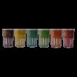 Kép 2/2 - Arab üvegpohár (különböző színekben, a minimum rendelési mennyiség: 6 db)