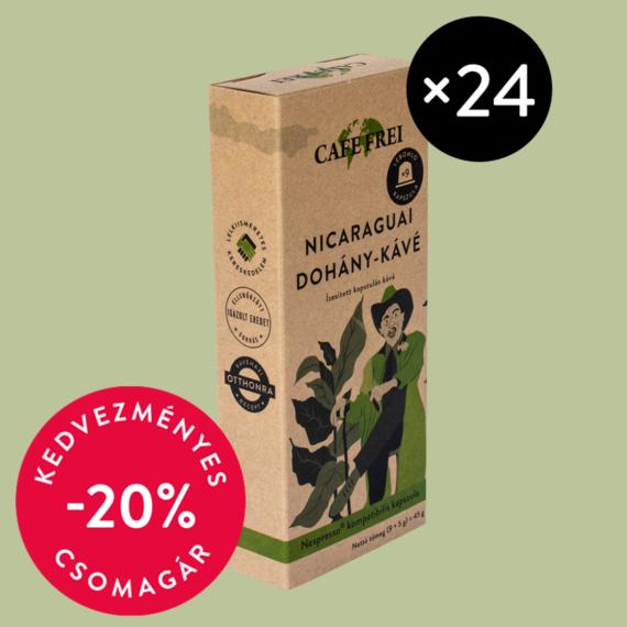 Nicaraguai dohány-kávé 24 csomag