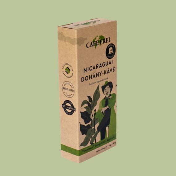 Nicaraguai dohány-kávé 45 g