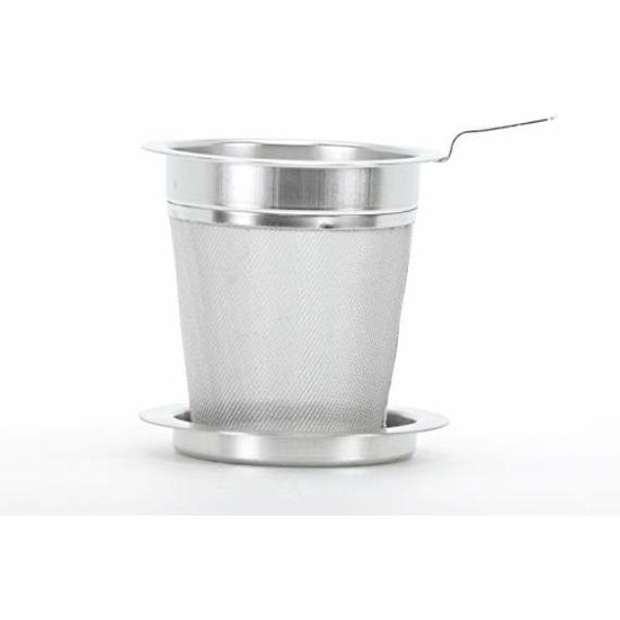 Szűrő teás üvegpohárhoz